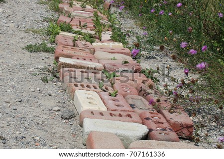 Brick road #707161336