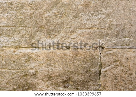 Brick texture with scratches and cracks #1033399657
