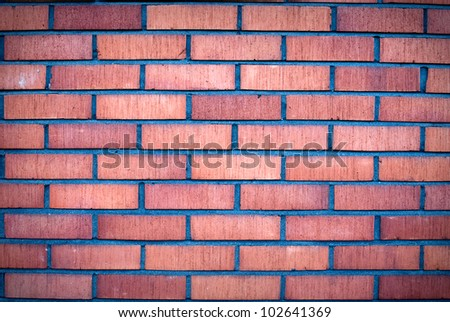 Brick wall. Background.