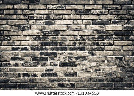 brick wall background or texture abstract