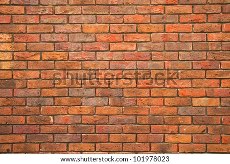 Brick wall background, texture