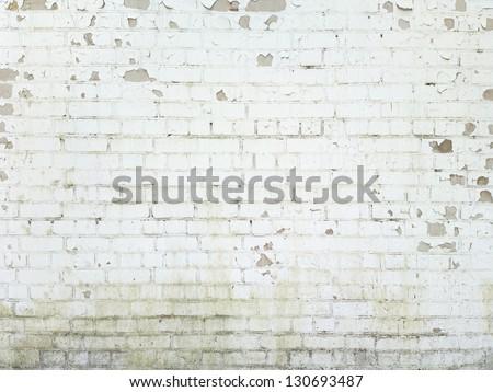 Brick Wall Background, Texture For Graffiti