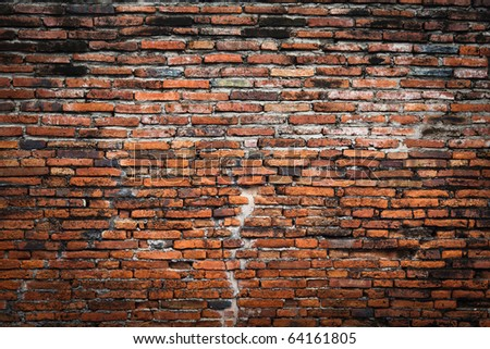 brick wall fragment