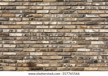 Brick wall pattern : Korea style