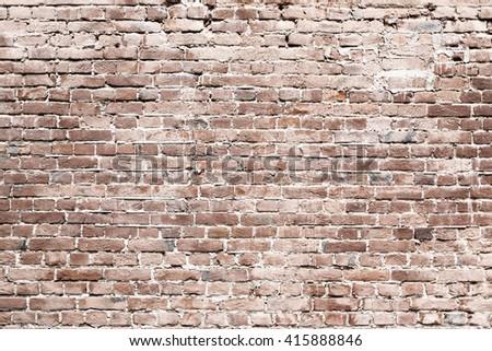 Brick wall texture. Old brickwork background. Old brick wall texture.