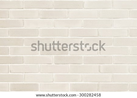 Brick wall texture pattern background in natural light ancient sepia  beige brown color tone: Masonry brick work wall detail textured backdrop