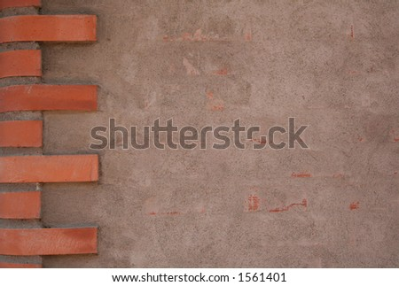 Brick wall with copy space