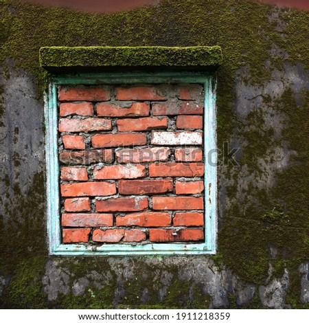 Bricks and Mos's house in bangkok Stock fotó ©