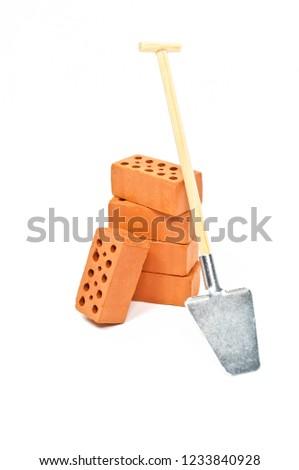 Bricks Clinker with spade