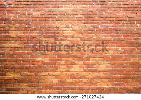 Bricks wall #271027424
