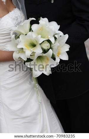 Bridal flowers (lilies)
