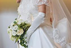 Bridal image, splendid and elegant very nice wedding