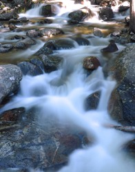 Bridalveil Falls River Rocks, Yosemite National Park
