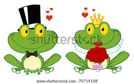 Girl Frog Clip Art