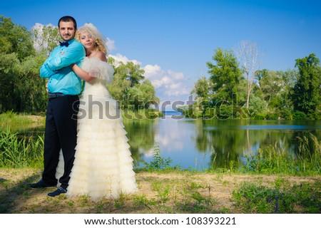 bride and groom. wedding
