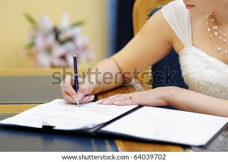Submitter Marriage License Bride 82