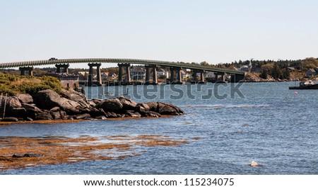 bridge across Moosabec Reach