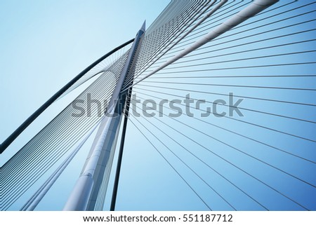 bridge and blue sky