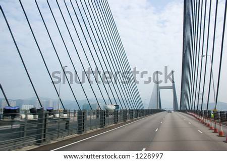 Bridge and cable supports