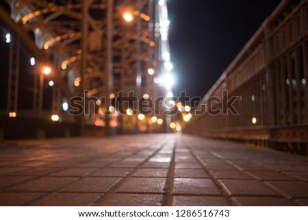 bridge at night #1286516743