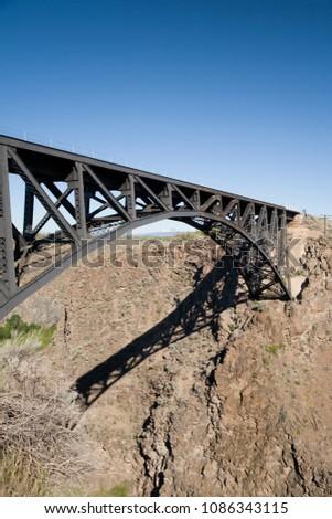 Bridge at peter ogden scenic point #1086343115