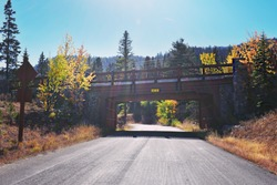 Bridge at tamarack, Donnelly ID
