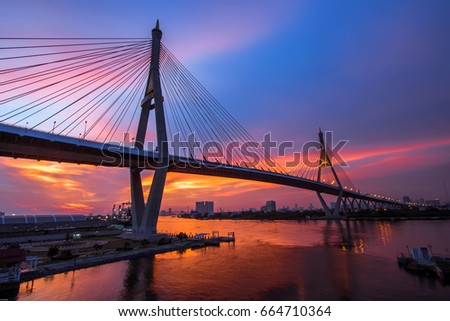 Bridge Bhu mi bol, Thailand #664710364