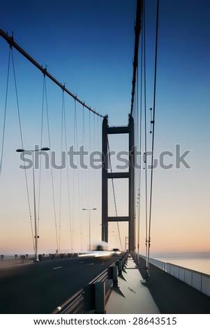 Bridge crossing the river humber