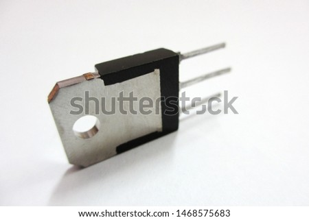 Bridge Diode,Diode,MosFet,Rectifier Diode,Regulator are electric equipment.