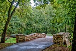 Bridge Dogwood Canyon Park Nature Park-Branson, Missouri