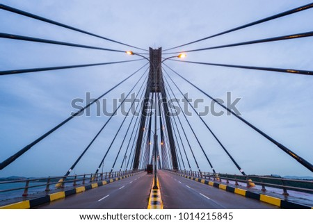 Bridge in Batam, Indonesia. #1014215845