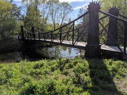 Bridge in Forest Park, St. Louis, Missouri