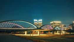 Bridge in Fort Worth Texas.