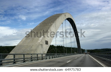 Bridge in Norway