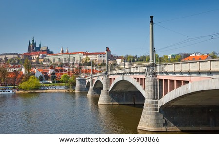 Bridge in Prague, Czech Republic