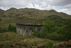 Bridge in Scotland where the Hogwart express was filmed.