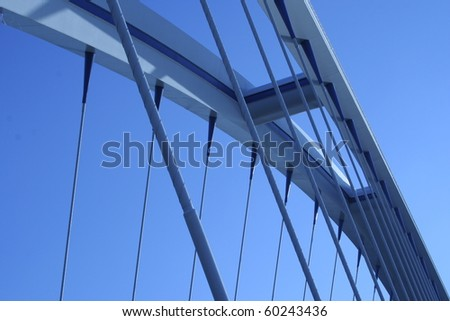 Bridge in the blue sky #60243436