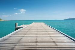 bridge in to the sea