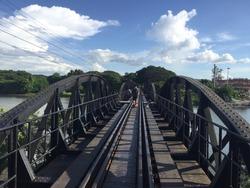 Bridge Kanchanaburi Thailand Worldwar 2