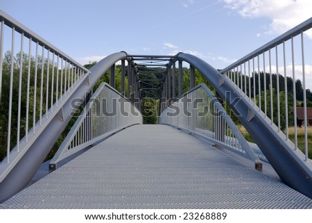 bridge made of steel