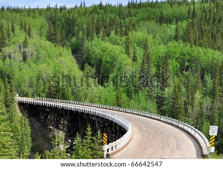 bridge on Alaska Highway