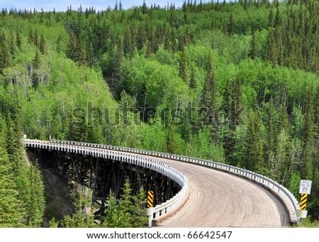 bridge on Alaska Highway