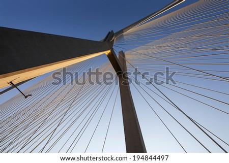 Bridge on sunset #194844497