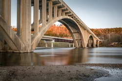 Bridge on Taneycomo Branson Missouri