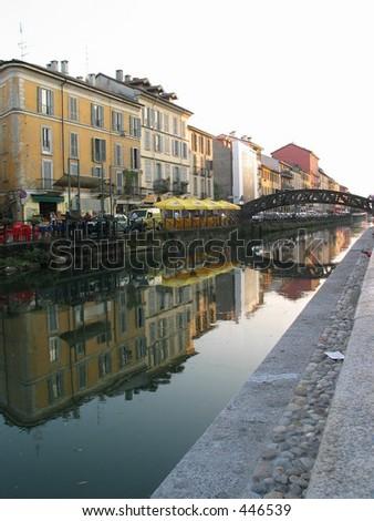 Bridge over Milan Canal