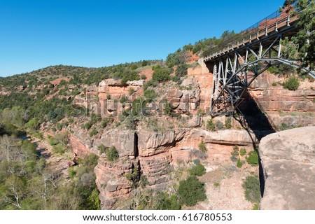 Bridge over Oak Creek, Sedona, Arizona