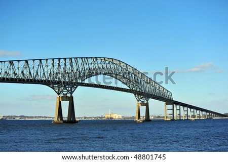 Bridge over the Chesapeake Bay