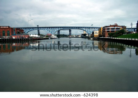 Bridge over the Cuyahoga River