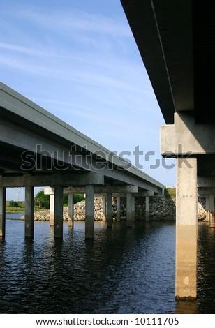 Bridge over the Saint John's River Bridge, Florida