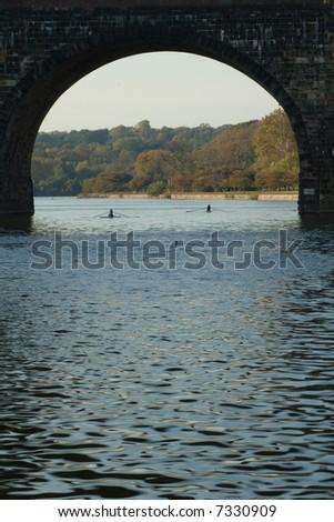 Bridge over the Schuylkill River, Fairmount Park, Philadelphia